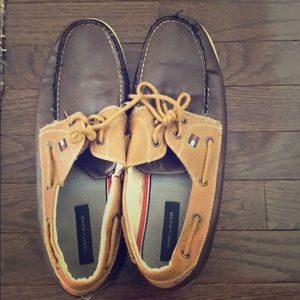Used Tommy Hilfiger Boat Shoes